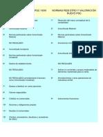 6 NORMAS VALORACIÓN PGC 1990 y NPGC