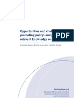 Opportunities and Challenges in Promoting Policy- And Practice-relevant Knowledge on Child Rights