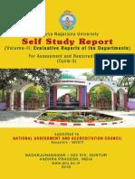 Nagarjuna Santhi ANU NAAC SSR 2016 Vol. II