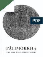 Pāṭimokkha-ÑāṇamoliBhikkhu.pdf