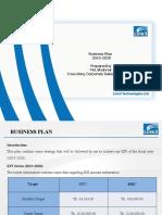 Business Plan 2019