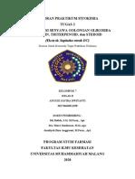 Laporan Praktikum Fitokimia | IDENTIFIKASI SENYAWA GOLONGAN GLIKOSIDA SAPONIN, TRITERPENOID, dan STEROID (Ekstrak Sapindus Rarak DC)