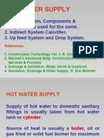 HOT WATER SUPPLY 24 dec