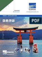 Tarifa EBARA 2020 (España)  2ª edición
