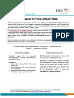 RECOMENDACIONES EJERCICIO AEROBICO Y ANAEROBICO