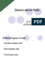 Rail, & fittings
