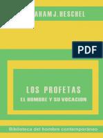 Los Profetas - Abraham Heschel, Parte I.pdf