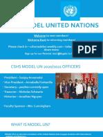 CSHS MUN Agenda and Info 9_28_2020