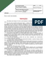 LÍNGUA PORTUGUESA - ATIVIDADE 7
