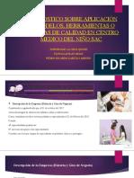 Exposicion sobre diagnostico de Centro Médico del Niño SAC.pptx