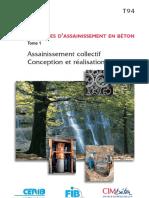 Ouvrages d'assainissement en béton Assainissement collectif Conception et réalisation ( PDFDrive ).pdf