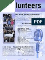 Winter Volunteer Newsletter 2011- complete