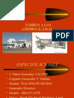 PRESENTACION DE TURBINA LM 2500 G E