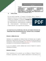 Texto Sustitutorio Retiro 100% Afp