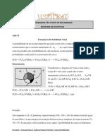 Aula 12  - Formula da Probabilidade Total