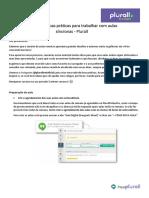 Boas práticas para aulas síncronas (aulas online)
