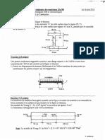 Examen de rattrapage de la résistance des matériaux