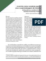 A escrita como condição para o ensino...pdf