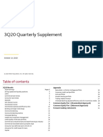 Third Quarter 2020 Earnings Supplement