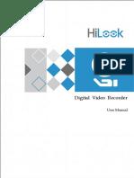 HiLook Baseline User Manual of DVR V4.30.100 20190911