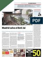 Madrid salva el Beti Jai (Diario Vasco - 28/01/2011)