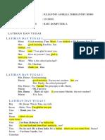 ENGLISH TASK 2