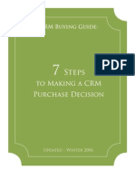 7 Steps to Making a CRM Purchase Decision