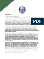 Dear Raider Family