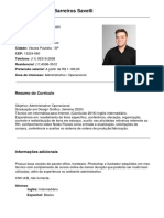 CV - Pedro Henrique Barreiros Savelli