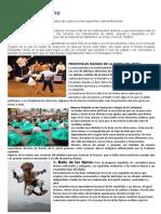El Folklore Andino 3ero