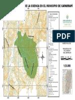 plano ubicación de la cuenca