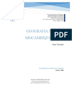 GEOGRAFIA DE MOÇAMBIQUE II