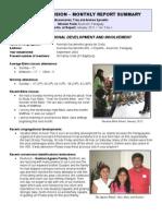 Mission Report Jan 2011