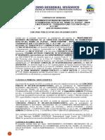 CONTRATO SERVICIOS CONCURSO PUBLICO