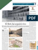 El Beti Jai seguirá vivo (DEIA - 28/01/2011)