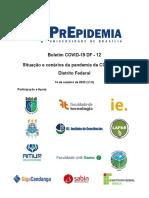"Pesquisa da UnB indica que pandemia regride ""em ritmo menor"" no DF"