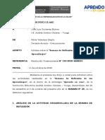 0. INFORME - SEMANA DE REFLEXION -SEC