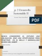 Cap. 2 Desarrollo Sustentable II