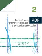11. 1. Lectura 2. Por qué y cómo promover la lengua oral en la educación preescolar