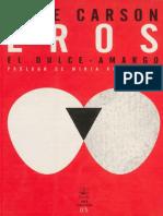 Carson, Anne - Eros el dulce-amargo.pdf
