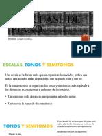 1 CLASE DE TECLADO (INTERVALOS, ACORDES, ESCALA MAYOR)