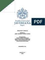 Informe, Proyecto Irrigación