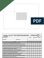 Checklist Tratores - Operador1