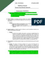 Didáctica General - Examen Final - Rodrigo Morales