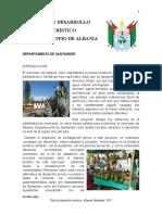PLAN DE DESARROLLO TURISTICO DEL MUNICIPIO DE ALBANIA Final - copia