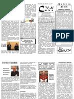 Boletín No. 21 CVX CUBA Enero 2011