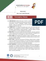 1. Conceptos Claves