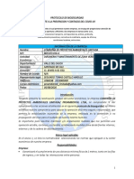 PROTOCOLO BIOSEGURIDAD COVID 19 PROAMBIENTAL LTDA