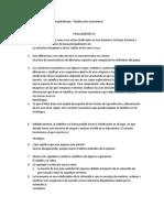 Desarrollo de la actividad de plataforma
