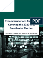 Election Coverage and Democracy (ECAD) Network Resources